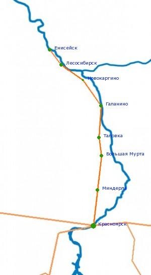 Дорога енисейский тракт красноярск